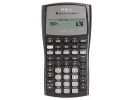 Texas Instruments rekenmachine BA II Plus