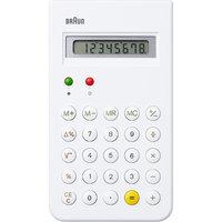 Braun rekenmachine ET66 wit