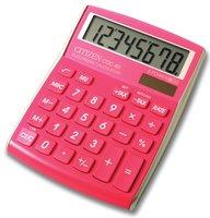 Citizen rekenmachine CDC-80 roze