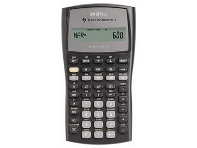 Texas Instruments BA II Plus rekenmachine