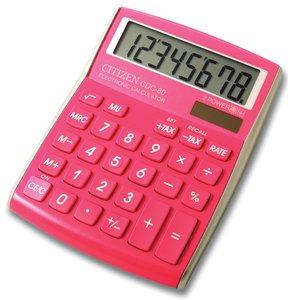 Citizen Allrounder bureaurekenmachine CDC-80 roze